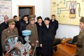 Song Tao (centre), was the last senior Chinese envoy to visit North Korea. Photo: AFP
