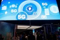 A video promotes the upcoming 5G mobile standard at a booth during last year's CES trade show in Las Vegas. National security officials of the Trump administration are reportedly considering a plan for the federal government to build a nationwide 5G mobile network. Photo: Reuters