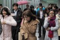 Much like Hong Kong's weather on Monday, its stock market and mainland equivalents caught the shivers, both retreating for the first time in seven weeks.