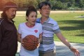 From left: Andrew Lam, Qian Ying and Johnson Lee in a still from Staycation (category IIA, Cantonese, Mandarin, English), also directed by Lee.