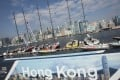 The Volvo Village and the mooring in Hong Kong on the latest leg of the Volvo Ocean Race has been hailed as a success by everyone involved, but will the fleet be back? Photo: EPA