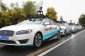 Self-driving cars backed by JingChi's autonomous driving solution. Photo: Handout