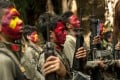 Guerillas of the New People's Army in the Sierra Madre mountain range. Photo: AFP