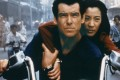 Pierce Brosnan, as Bond, and Michelle Yeoh, as Wai Lin, in Tomorrow Never Dies. Photo: AP