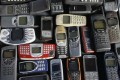 A collection of Nokia mobile phones. The company sold its mobile handset business to Microsoft for€5.44 billion in 2013. Photo: Reuters