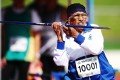 Man Kaur, 102, has competed at World Masters Games around the world, setting numerous records. Photo: Getty Images