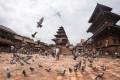 Ancient buildings in Bhaktapur.