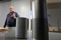 Amazon's Echo range of smart speakers. Photo: AP/Elaine Thompson