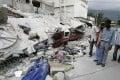 The aftermath of the earthquake in Haiti. Photo: EPA