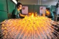 Beijing has banned capacity expansion in the glassmaking and cement industries this year. Photo: Xinhua