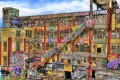 """The graffiti artists who turned New York's """" 5Pointz"""" factory into a local legend have been awarded millions in damages after a company painted over the walls then tore the building down. Photo: iamNigelMorris via Flickr, CC 2.0"""