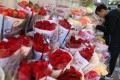 The flower market in Prince Edward in Kowloon on Tuesday. Photo: Sam Tsang