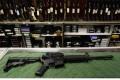 A Bushmaster AR-15 assault rifle. Photo: AFP