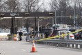 Police tape blocks a visitor's entrance to the headquarters of the National Security Agency after a shooting incident on Wednesday at the entrance in Fort Meade, Maryland. It's believed a wrong turn may have sparked the incident. Photo: AFP