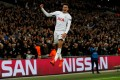 Tottenham's Dele Alli celebrates scoring against Real Madrid in the English club's victory over their Spanish rivals earlier this season. Photo: Reuters