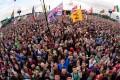 Glastonbury music festival in 2014. Photo: AFP