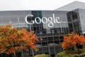 "The Google headquarters complex, also known as the ""Googleplex"". Photo: Kristoffer Tripplaar / Alamy Stock Photo"