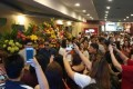 Crowds celebrate Xiaomi's opening of its first offline store in the Philippines on February 19, 2018. Photo: Handout