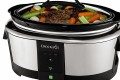 The Crock-Pot Smart Wi-fi Enabled Slow Cooker with WeMo supports a handful of remote adjustment options, such as the ability to turn it off or make temperature adjustments.