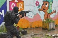 Soldiers conduct security operations in Rio de Janeiro, Brazil. Photo: AFP