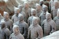 Damage caused to one of the terracotta warriors while on display in the US created an outcry in China. Photo: Shutterstock
