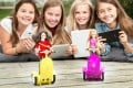 SmartGurl is a new line of robotic toys that teaches girls to code.