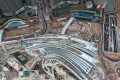 The under construction Hong Kong terminal of the Guangzhou-Shenzhen-Hong Kong Express Rail Link. Photo: Roy Issa