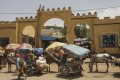 Moorish-style arches surround the enormous Kafira Market in Dire Dawa's old town. Picture: James Jeffrey