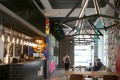 The Mojo Nomad Aberdeen Harbour in Wong Chuk Hang has been converted into a co-living space. Photo: Xiaomei Chen