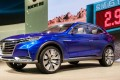 SAIC's Roewe Vision E electric SUV concept unveiled at the 2017 Shanghai Auto Show. Photo: SCMP/Handout