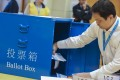 Whether the pan-democrats could make a comeback remained uncertain late on Sunday night as vote counting continued. Photo: Felix Wong
