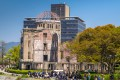 The Atomic Bomb Dome in Hiroshima, Japan, has attracted dark tourists in their millions. Picture: Alamy