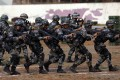 PLA troops prepare for a military exercise with Cambodia focused on counterterrorism and rescue operations. Photo: Weibo
