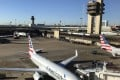 File photo taken on October 17, 2017, shows an American Airlines plane sitting at the gate at Dallas Fort Worth (DFW) International Airport. Russian hackers in 2017 penetrated US aviation as part of a broader attack on US infrastructure. Photo: AFP