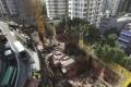 Construction site of 63 Pokfulam Road in Sai Ying Pun on Hong Kong island on 20 March 2018. Photo: SCMP / Sam Tsang