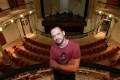 Opera producer Andrea Dal Cin inside the Dom Pedro V Theatre in Macau. Photo: Edward Wong
