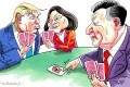 Washington does not play the Taiwan card to get an upper hand with Beijing, as China and some pundits claim. It plays its own cards. It just so happens that Taiwan holds them too.Illustration: Craig Stephens