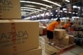 Lazada Group, the Southeast Asian e-commerce arm of Alibaba Group Holding, is facing stiff competition across the region from the likes of JD.com and Amazon.com. Photo: Reuters