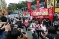 The 100Most/TVMOST team had a stall at the Lunar New Year fair at Victoria Park. Photo: Nora Tam