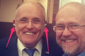 Rudy Giuliani and Rick Wilson. Photo: Rick Wilson/Twitter