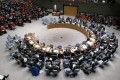The UN Security Council is seen on Wednesday. On Friday, it agreed to place sanctions against a string of companies and ships around the world, including two based in China and three in Hong Kong, for allegedly helping North Korea. Photo: Xinhua