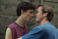 Timothée Chalamet (left) and Armie Hammer in a still from Call Me by Your Name.