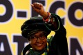 """Winnie Madikizela-Mandela, who was once known as mother of the """"new"""" South Africa, in December 2017. Photo: Reuters"""