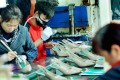 A file picture of workers at a shoe factory in Shangrao in Jiangxi province. Photo: Agence France-Presse