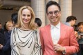 Lauren Santo Domingo, co-founder of Moda Operandi, and Hong Kong entrepreneur Adrian Cheng at the opening of a K11 exhibition during Art Basel last week. Photo: Leung Hon Ching