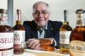 Eddie Russell, the master distiller of Wild Turkey bourbon. Picture: Felix Wong