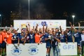 UBB Gavekal celebrate after retaining the Bill Burgess Cup at the 33rd GFI HKFC 10s. Photo: Handout