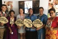 Fiji rugby sevens legend Waisale Serevi at his book launch. Photos: Handout