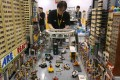 A Lego cityscape at a show in Hong Kong. The fund that manages the wealth of the toy company's owners is looking to invest in London property. Photo: Dickson Lee