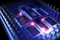 A simulation of a quantum computer processor. Photo: Shutterstock